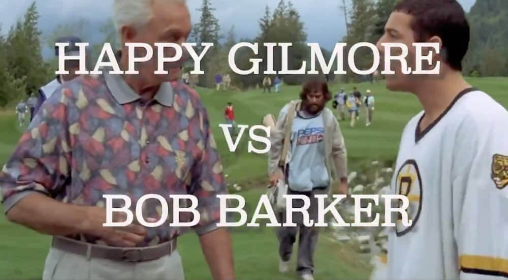 Watch Breaking Down The Fight Scene Between Happy Gilmore And Bob Barker Two Inches Short